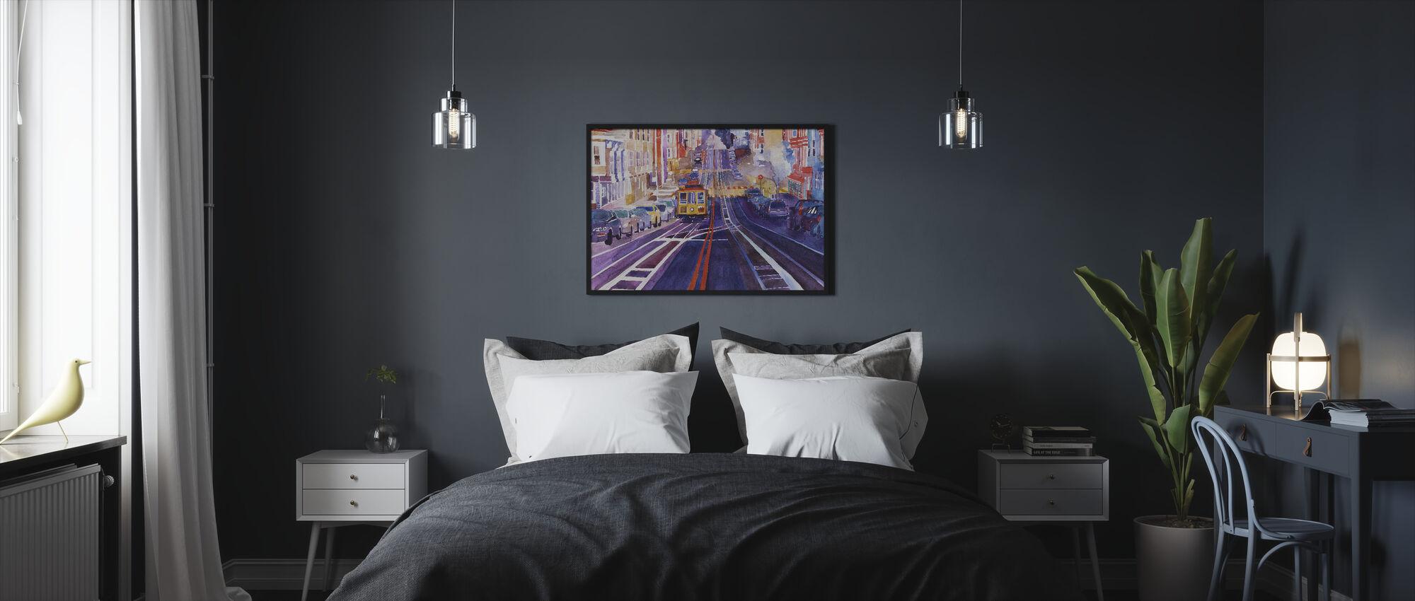 San Fransico - Ingelijste print - Slaapkamer
