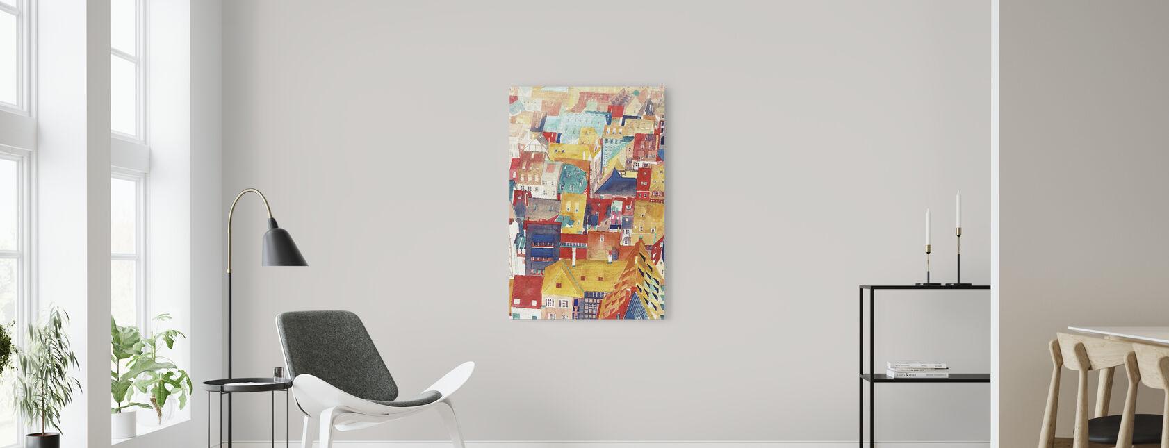 Strasbourg - Canvas print - Living Room