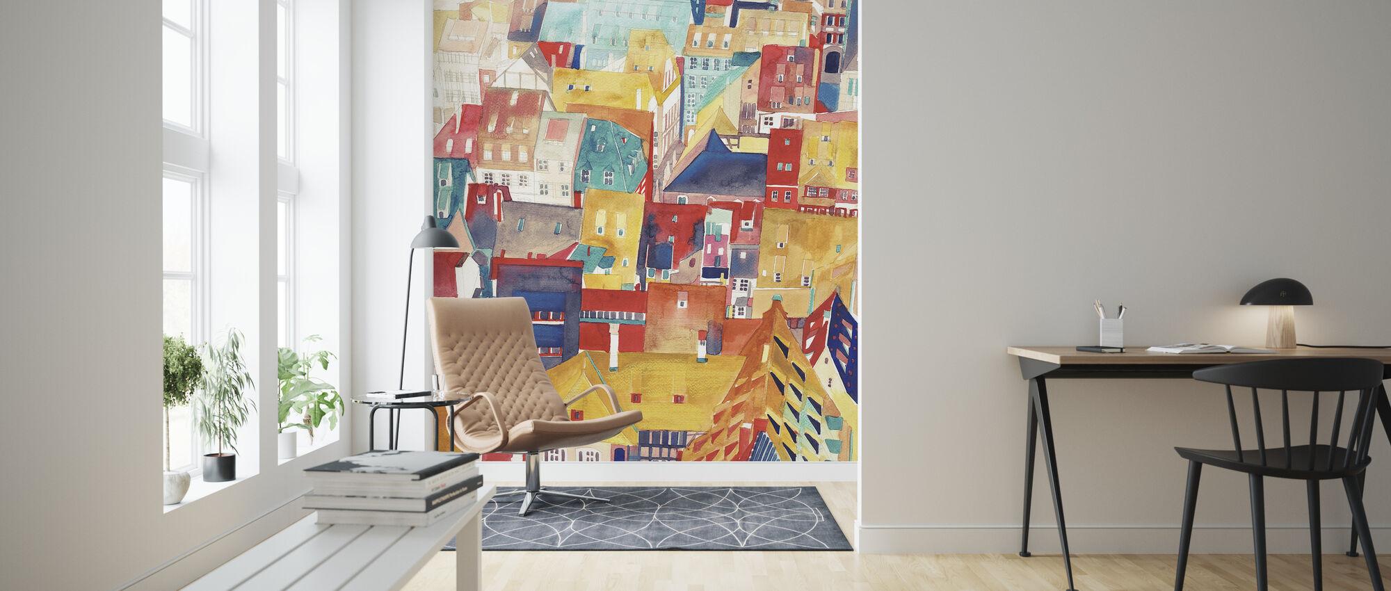 Strasbourg - Wallpaper - Living Room