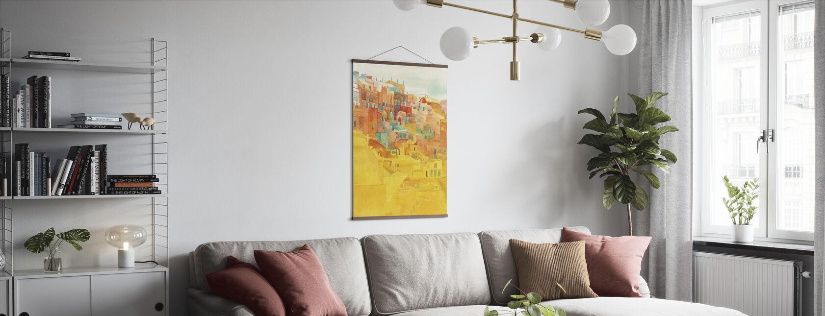 Summer on Mykonos - Poster - Living Room