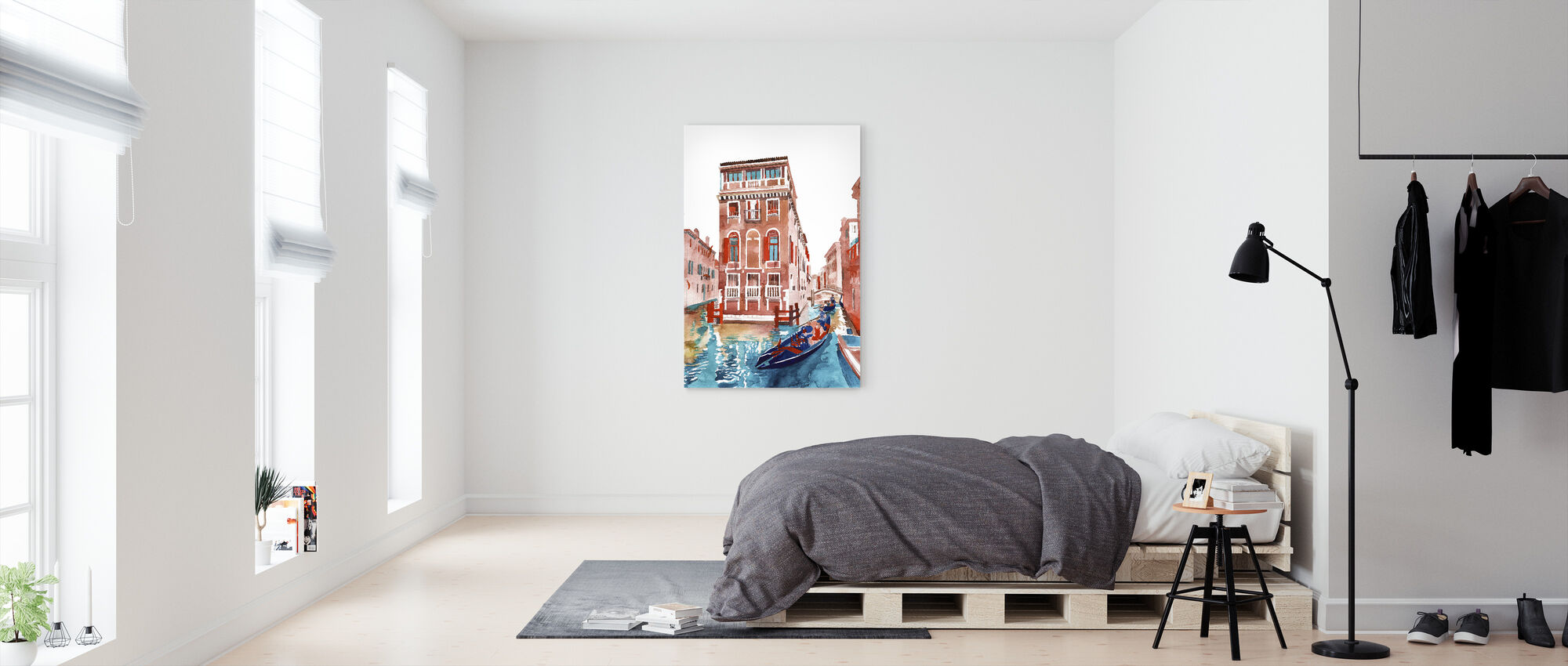Venice Straat - Canvas print - Slaapkamer