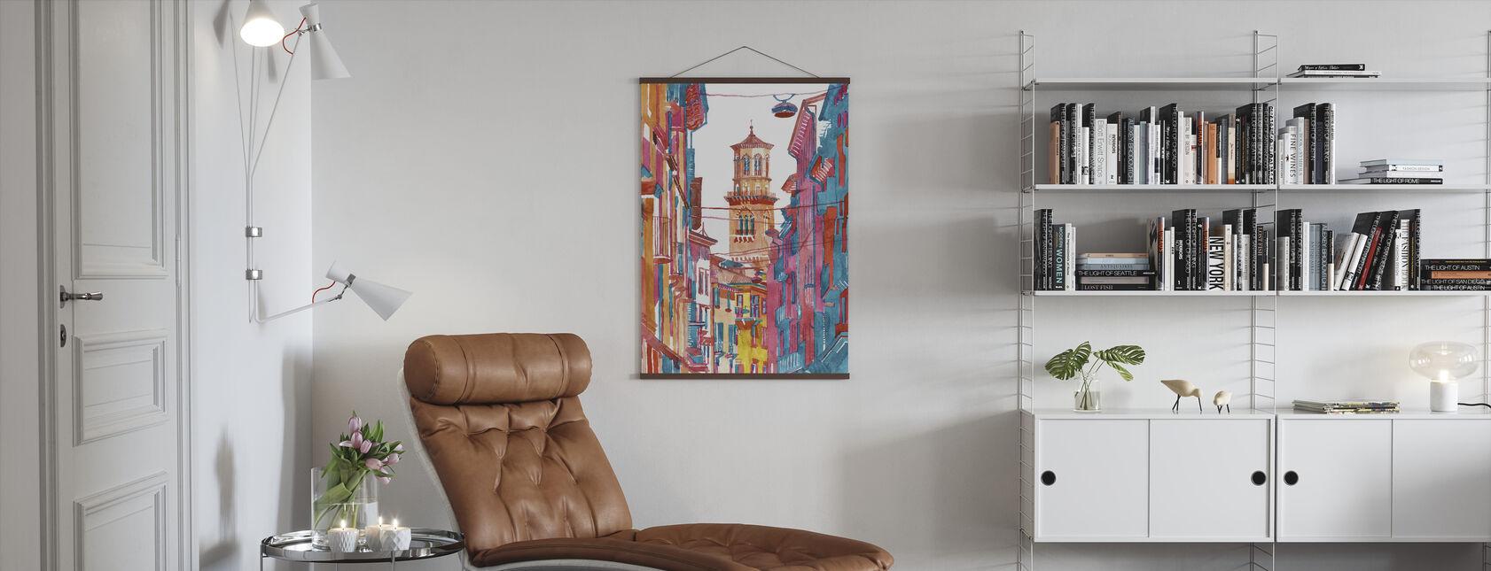 Verona Street - Poster - Living Room