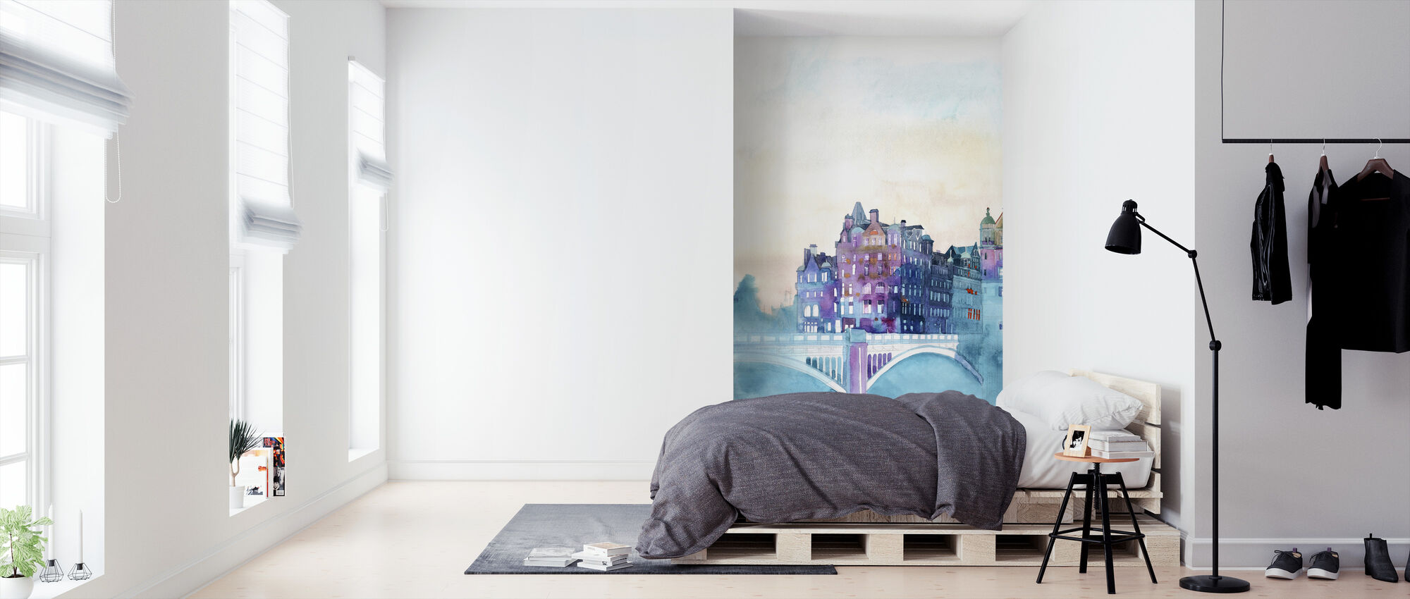 Winter in Edinburgh - Wallpaper - Bedroom