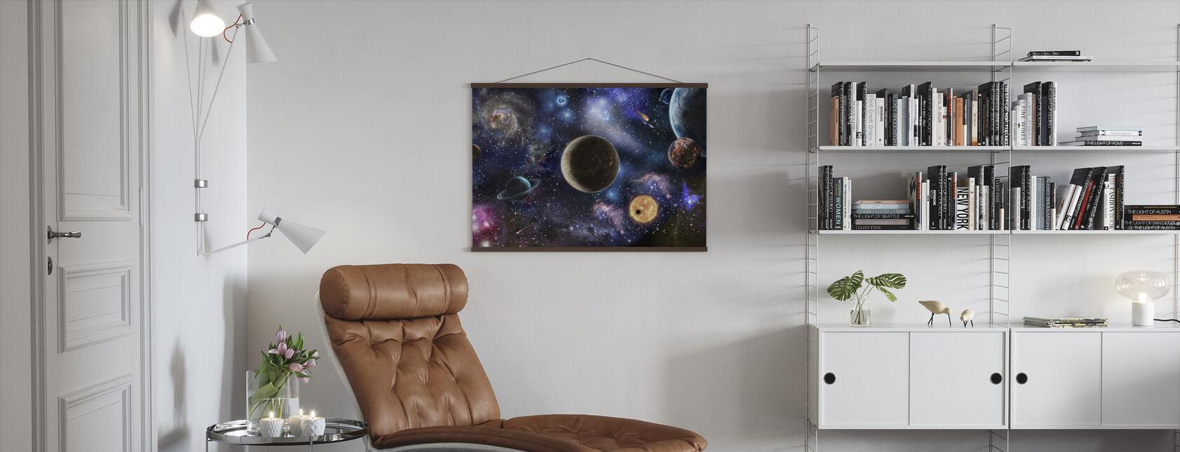 Fantastisk plads - Plakat - Stue