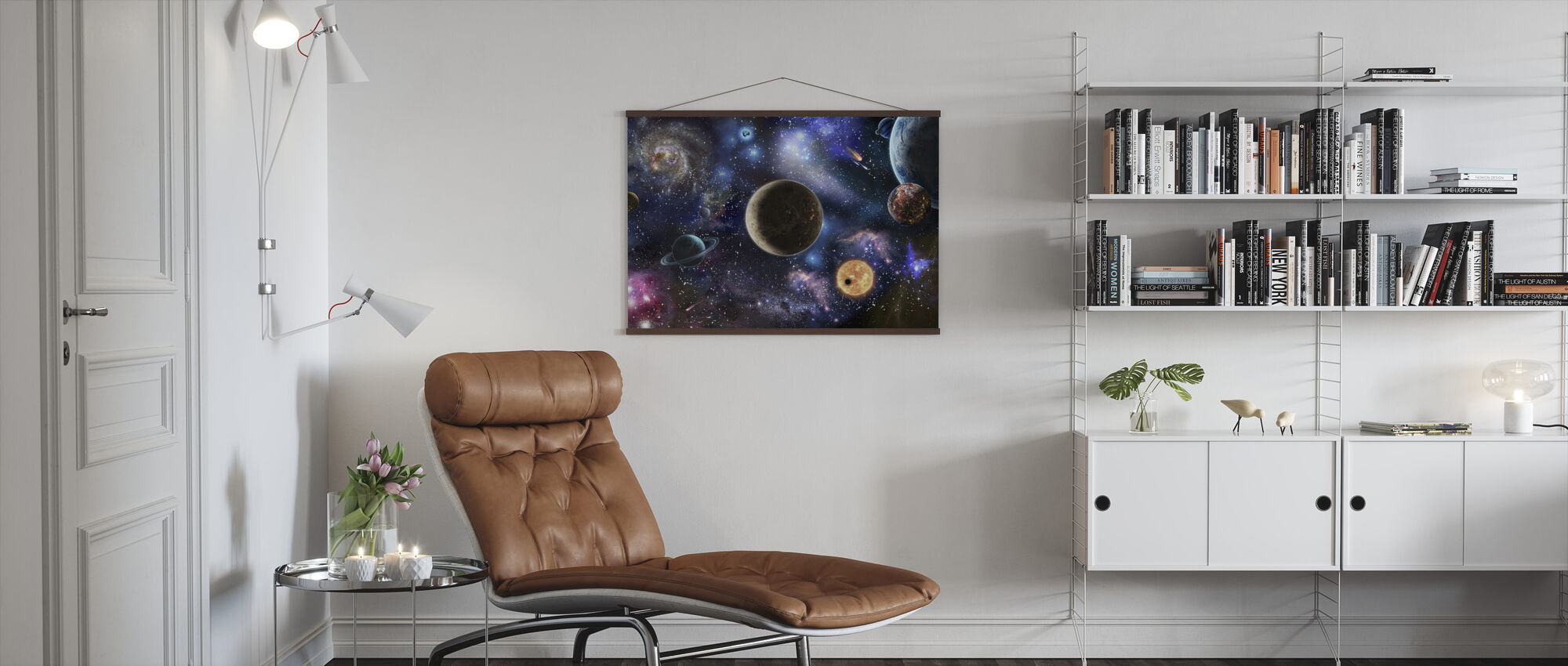 Amazing Space - Poster - Living Room