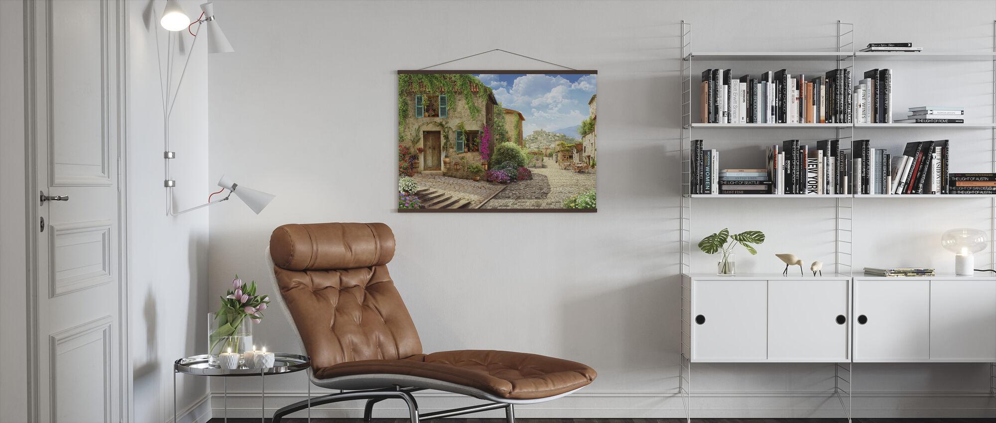 Tuscany Street - Poster - Living Room
