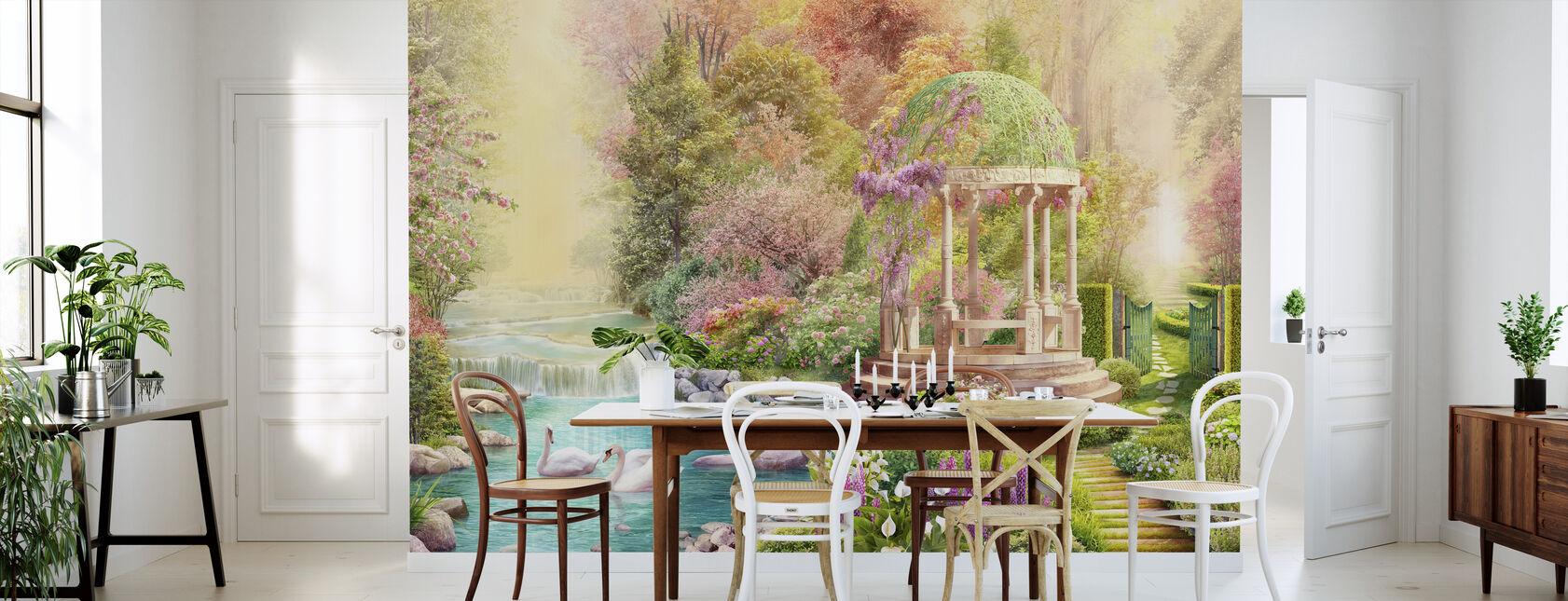 Svaner Paradise - Tapet - Kjøkken