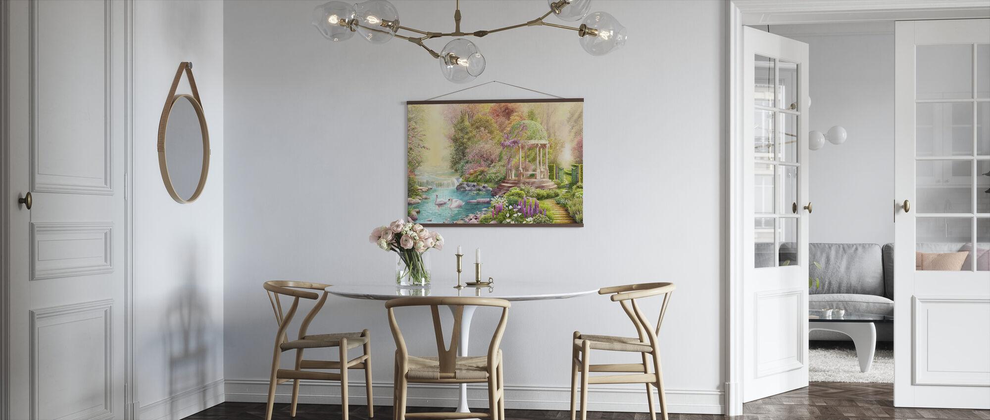 Swans Paradise - Poster - Kitchen