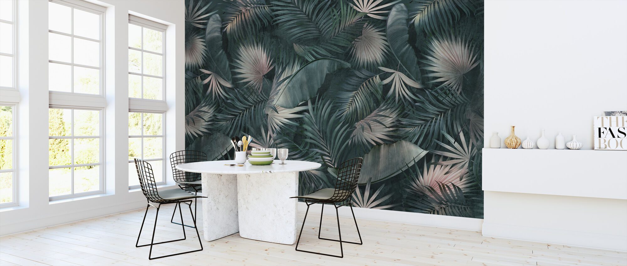 Tropical Leaves - Wallpaper - Kitchen