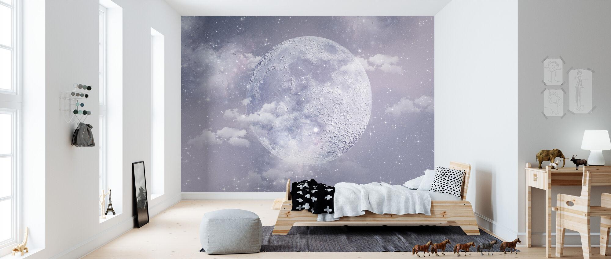 Moon - Wallpaper - Kids Room