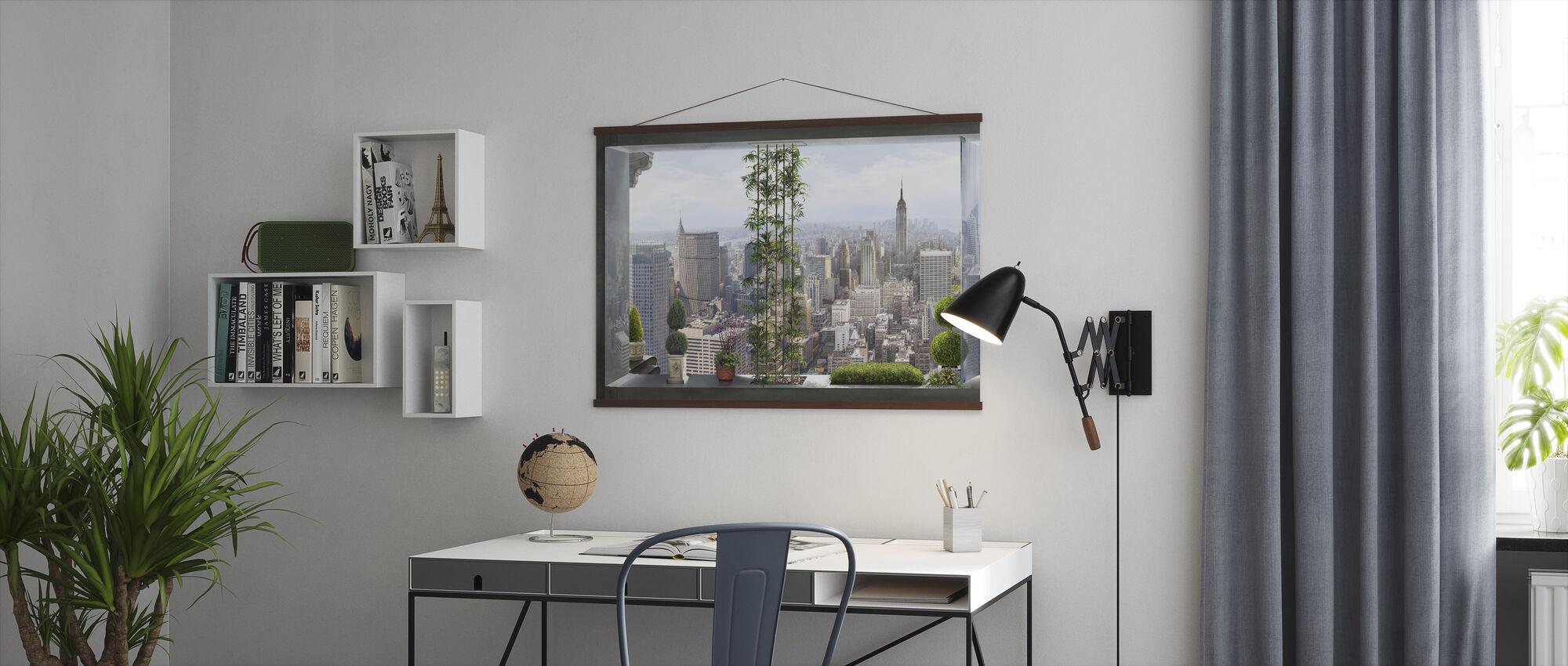 Utsikt över Manhattan - Poster - Kontor
