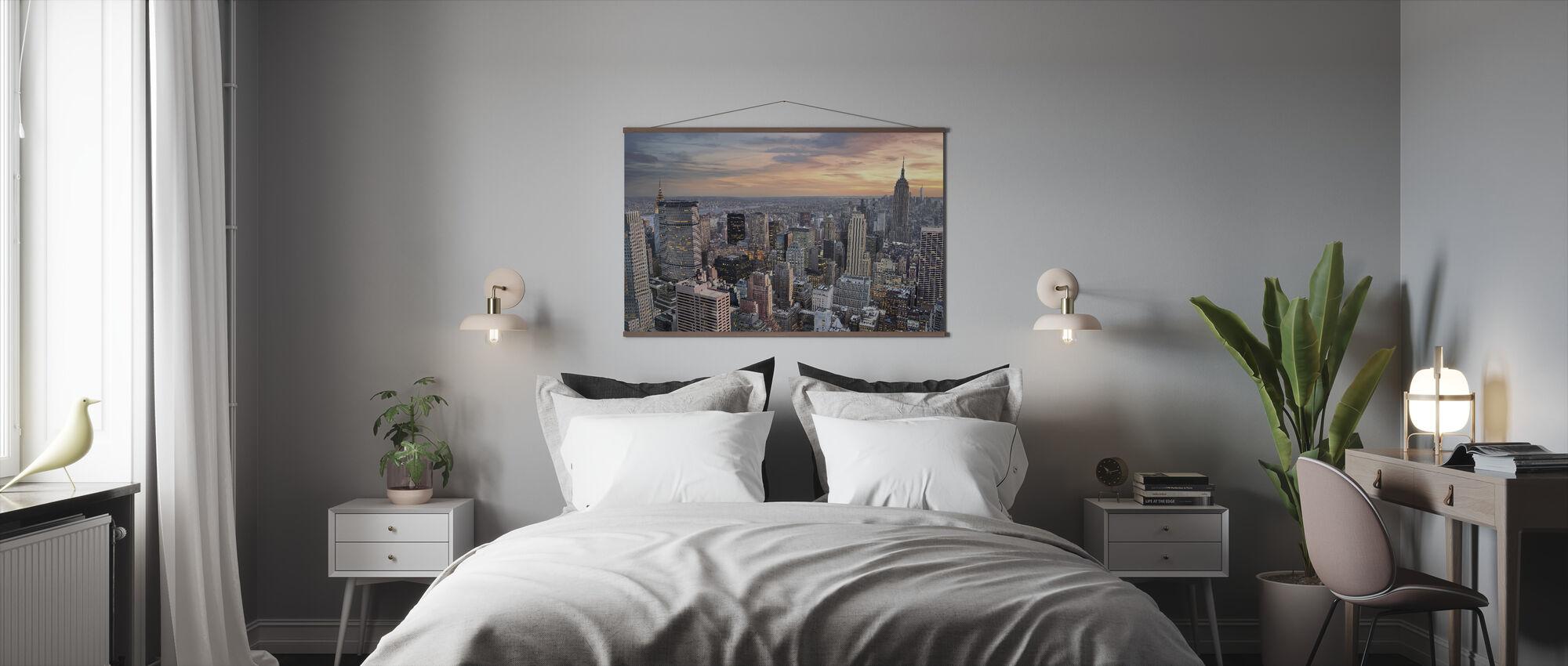 Manhattan iltahämärässä - Juliste - Makuuhuone
