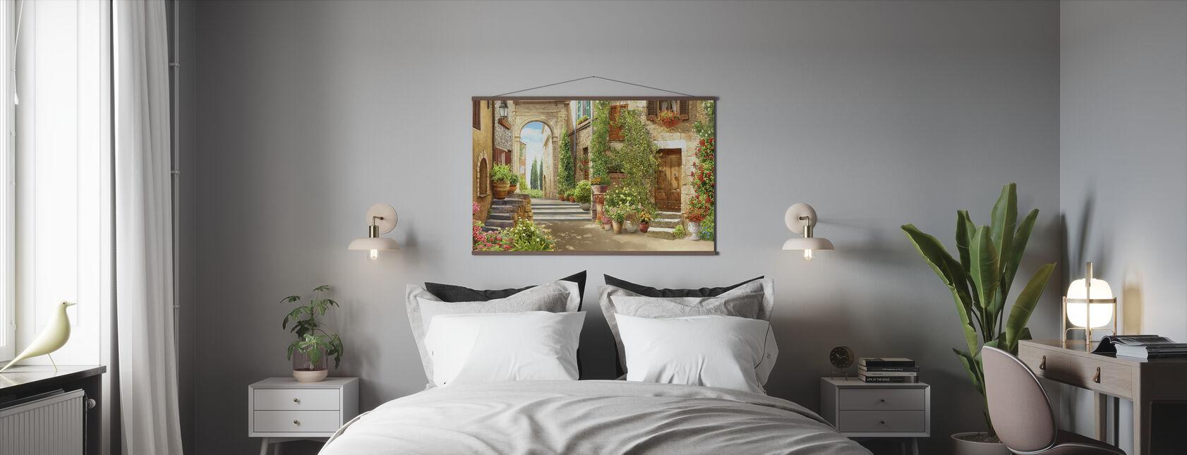 Gårdspladsen - Plakat - Soveværelse
