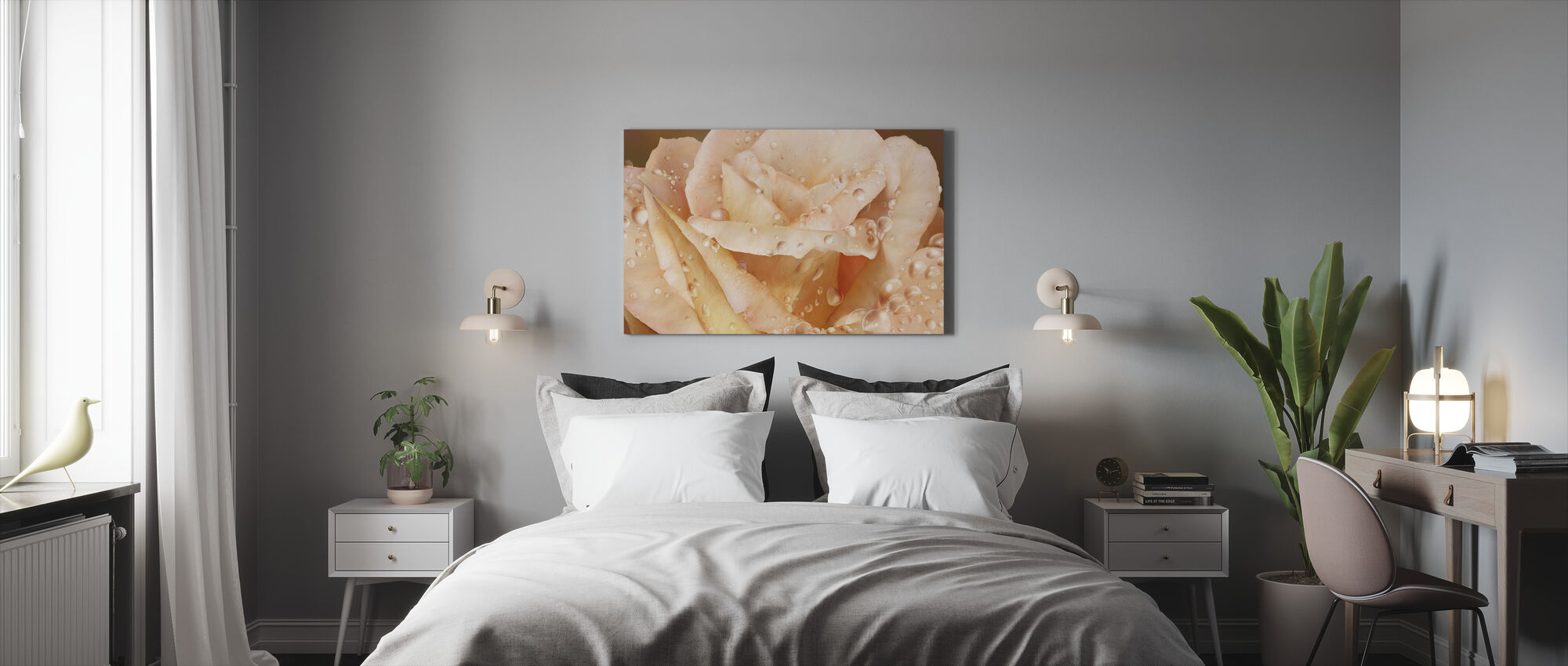 Promised Rose - Canvas print - Bedroom