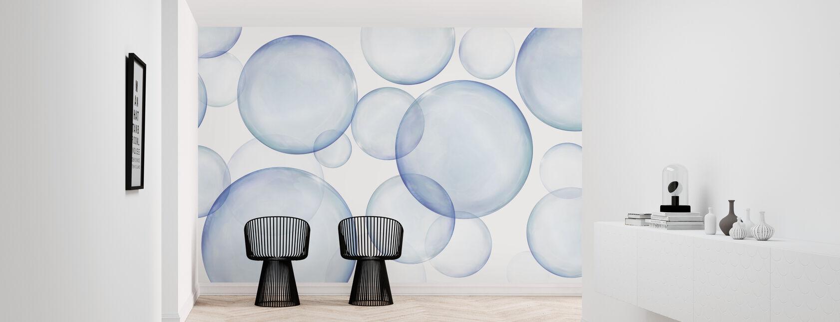 Rising Bubbles - Wallpaper - Hallway