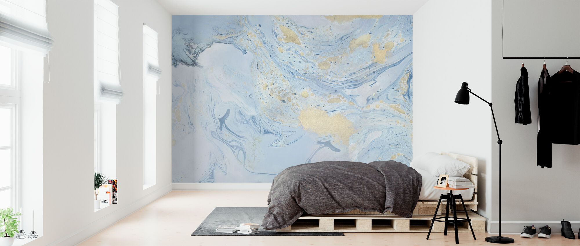 Marble Story - Wallpaper - Bedroom