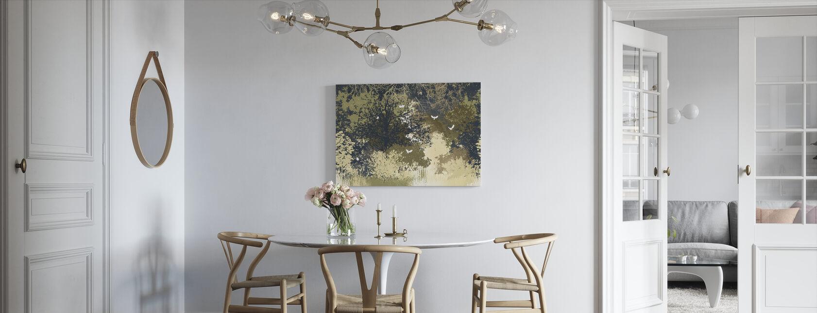 Deep in Forest - Aurous - Canvas print - Kitchen