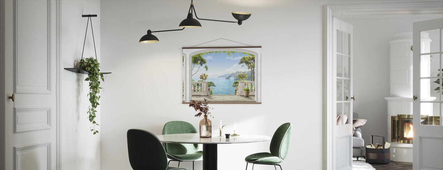 Terrace Sea View - Poster - Kitchen