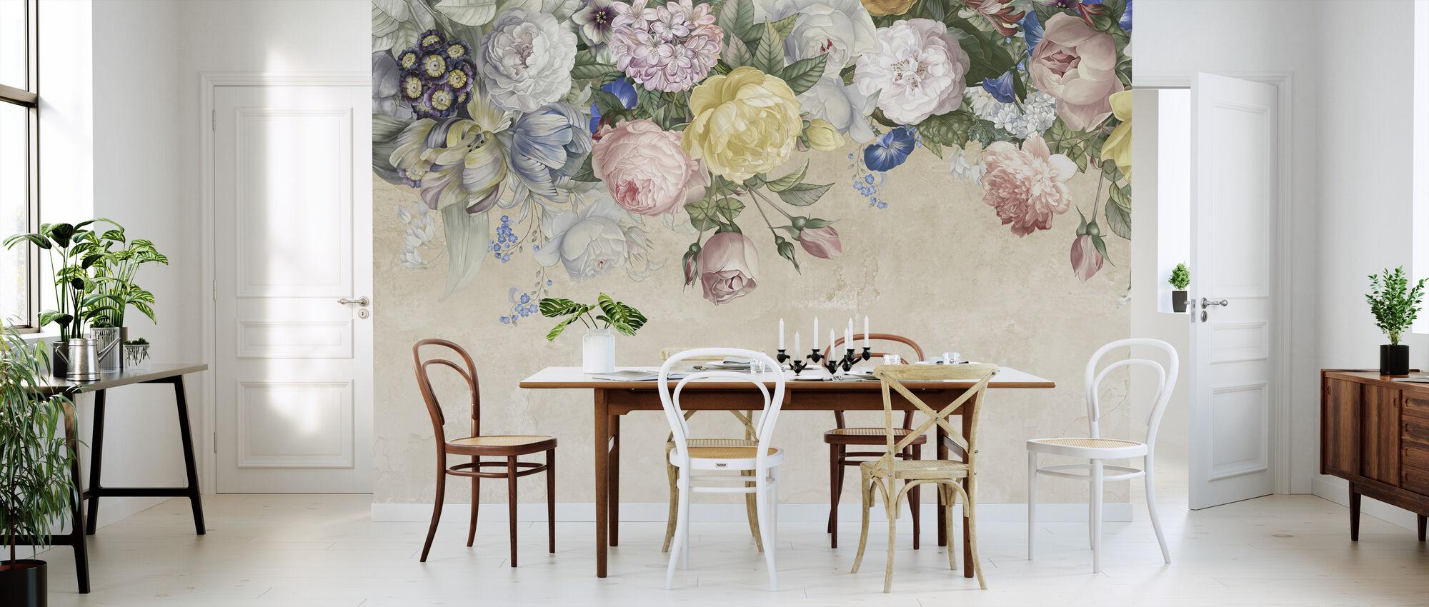 Wall of Flowers - Wallpaper - Kitchen