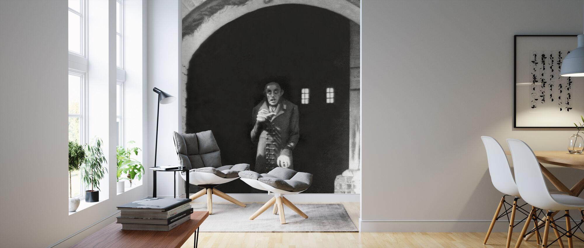 Vampire - Max Schreck - Wallpaper - Living Room