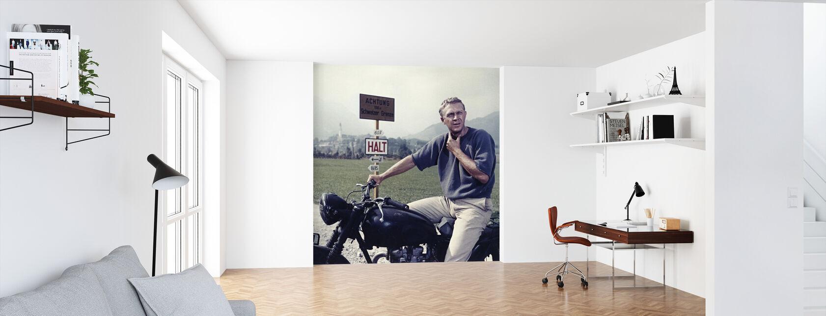 Great Escape -Steve McQueen - Wallpaper - Office