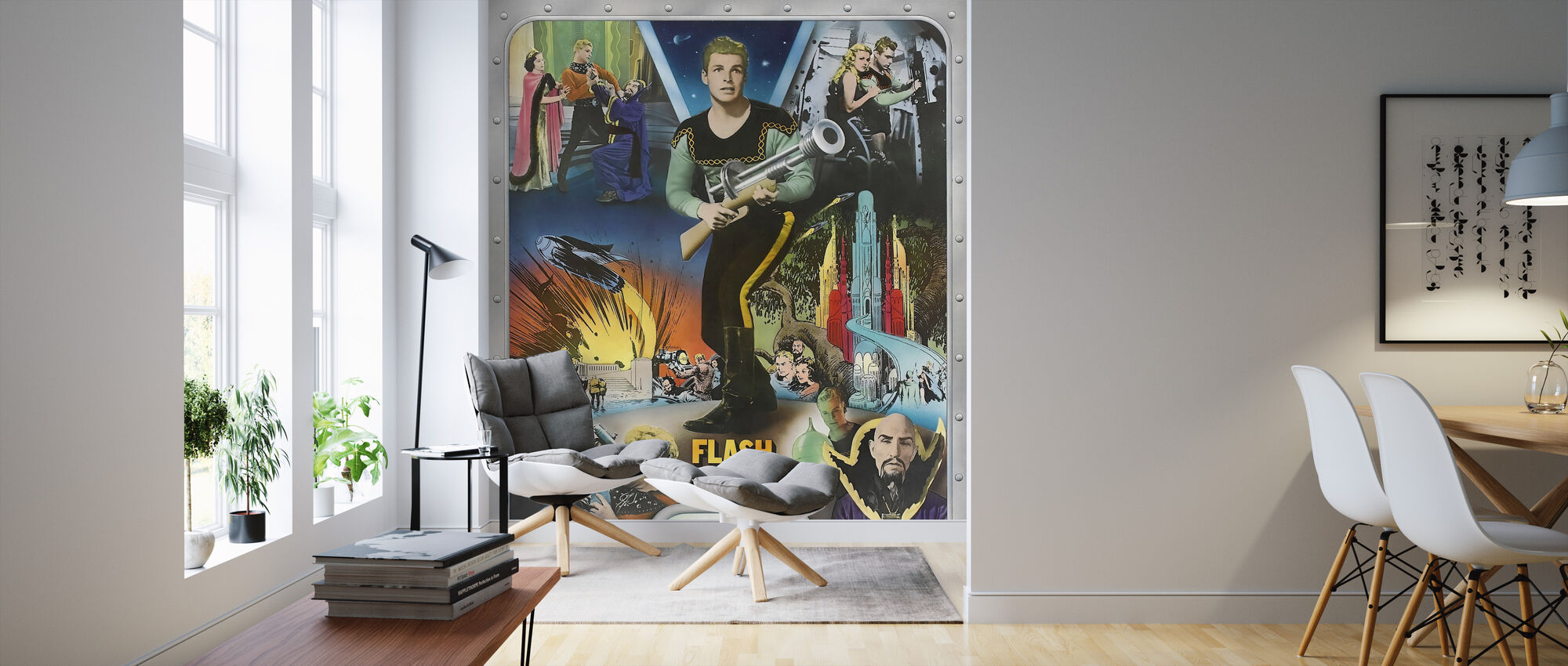 flash gordon - Ray taylor en Frederick Stephani - Behang - Woonkamer