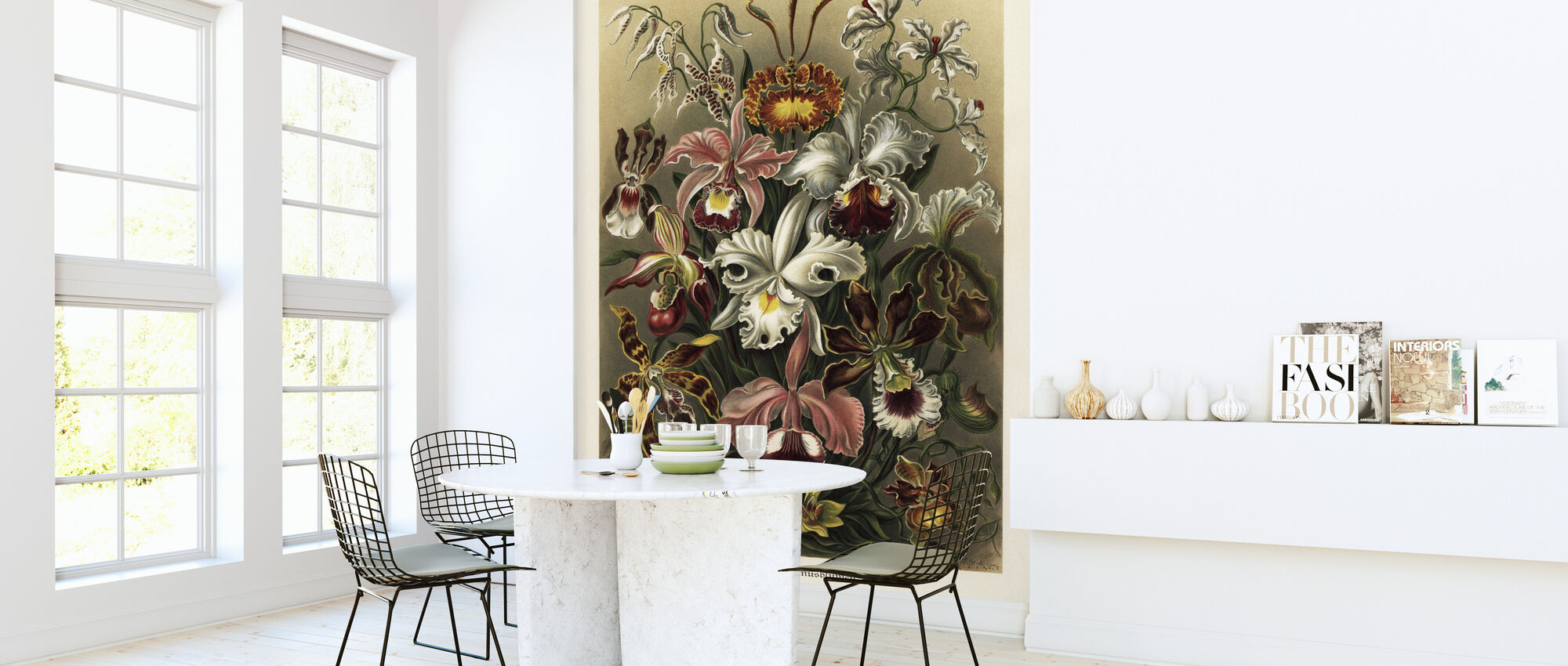 Art Forms in Nature - Ernst Haeckel - Wallpaper - Kitchen