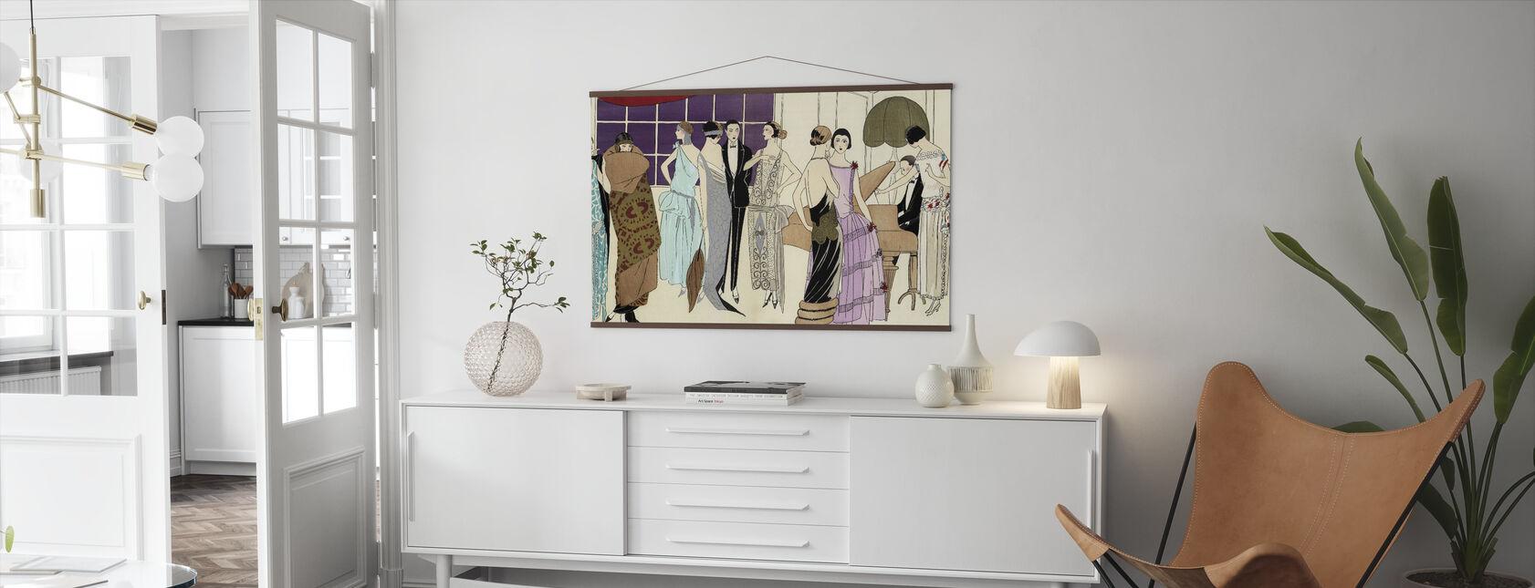 Avondfeest - Poster - Woonkamer