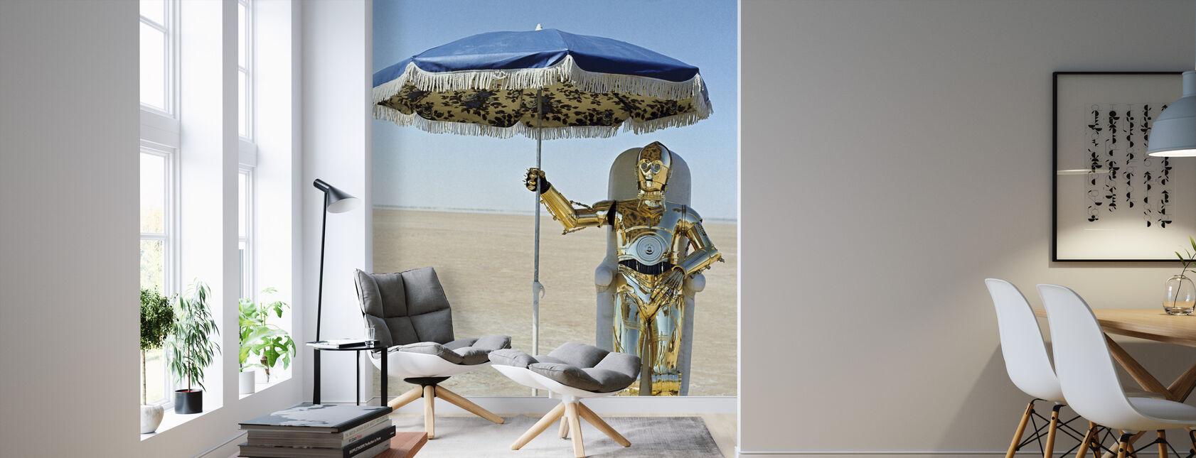 Neue Hoffnung - George Lucas - Tapete - Wohnzimmer