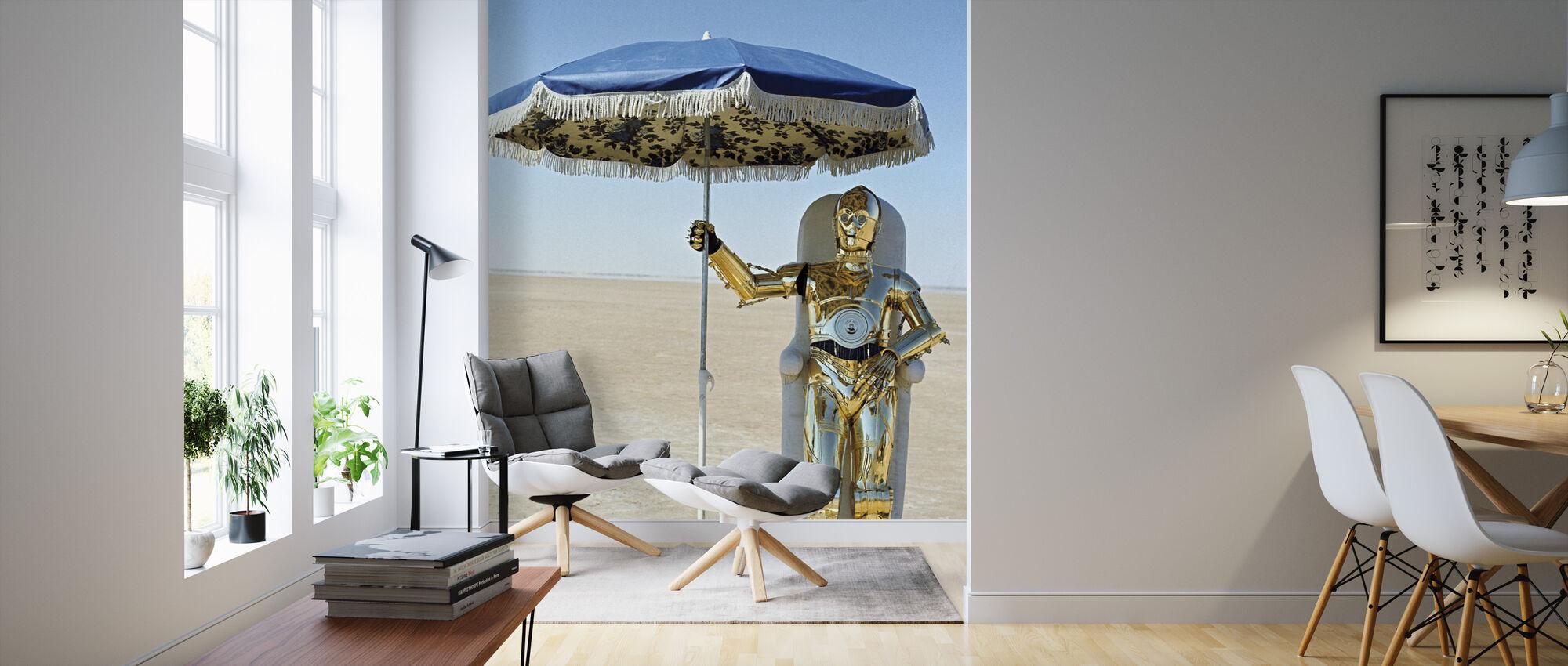 New Hope - George Lucas - Wallpaper - Living Room