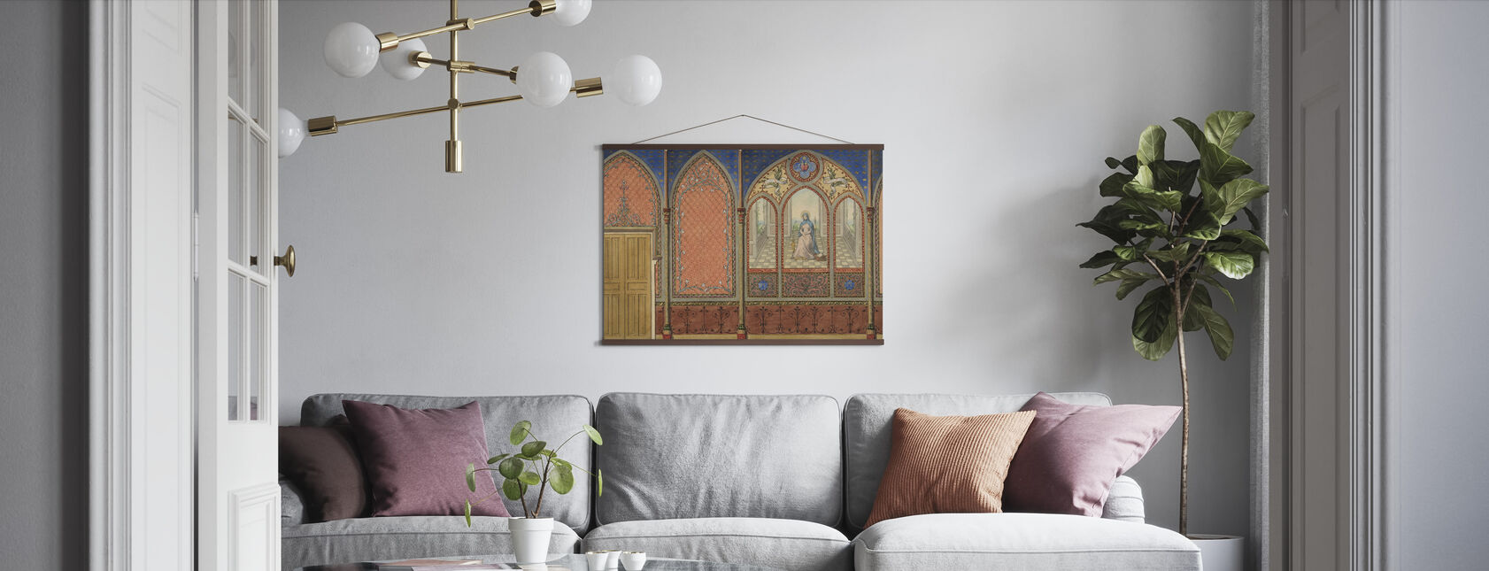 Elevation of a Church - Jules Edmond Charles Lachaise - Poster - Living Room