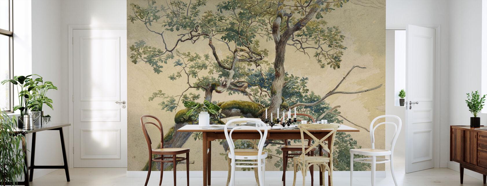 Tree Branch Art - Charles Reginald Aston - Wallpaper - Kitchen