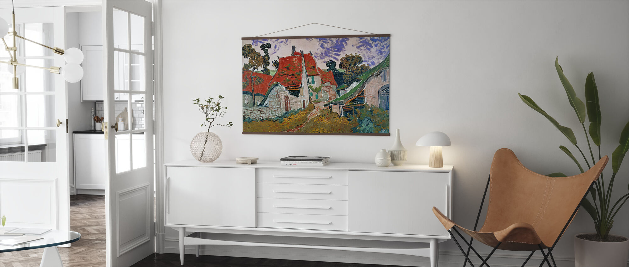 Wheatfield with Crows - Vincent Van Gogh - Poster - Living Room