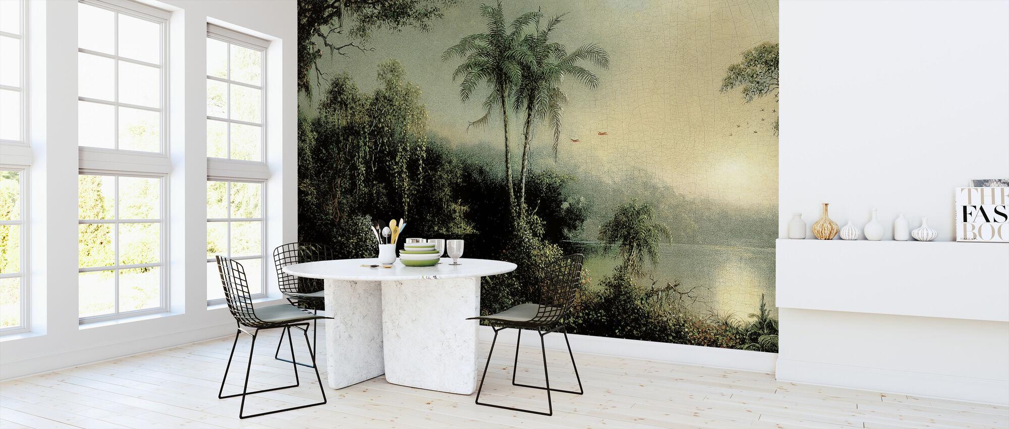 Sunrise - Martin Johnson Heade - Wallpaper - Kitchen