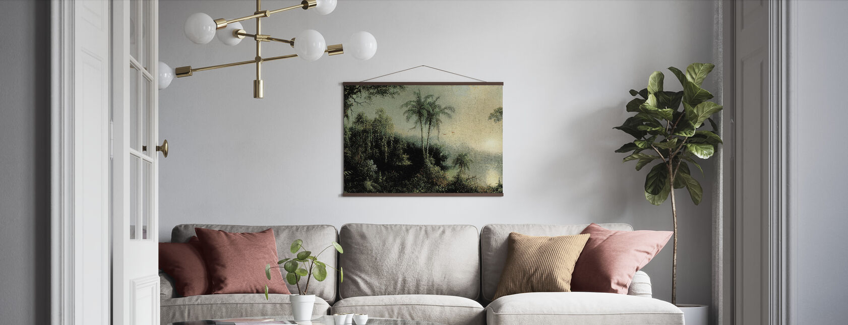 Sunrise - Martin Johnson Heade - Poster - Living Room