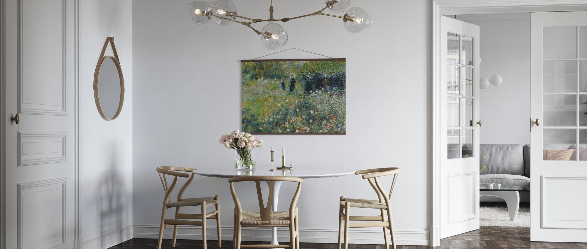 Kvinne i hage - Pierre Auguste Renoir - Plakat - Kjøkken