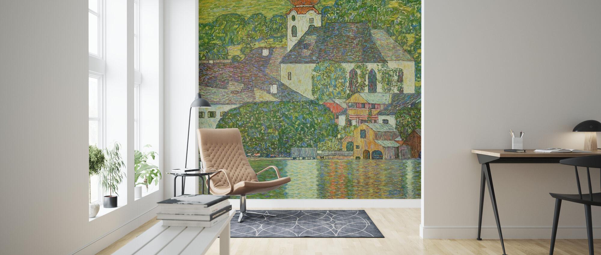 Church in Unterach on Attersee - Gustav Klimt - Wallpaper - Living Room