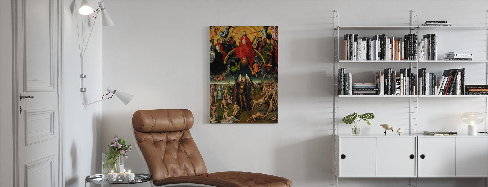 Last Judgement - Hans Memling - Canvas print - Living Room