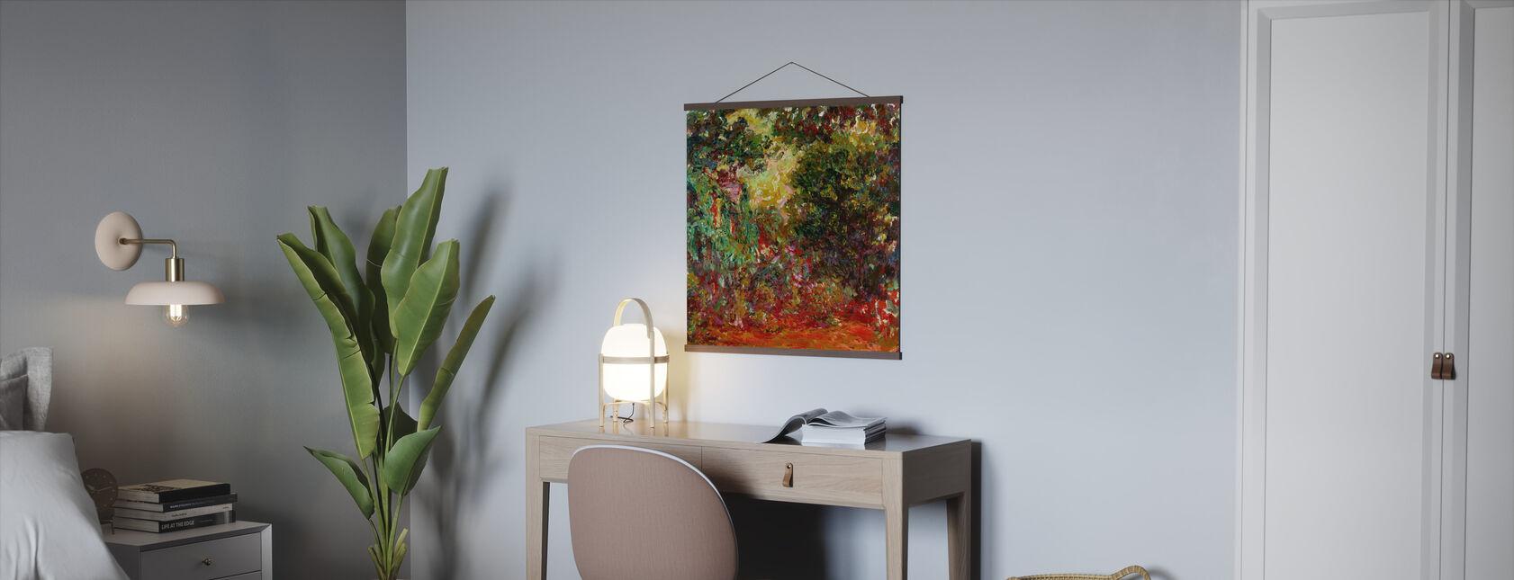 Rozentuin - Claude Monet - Poster - Kantoor