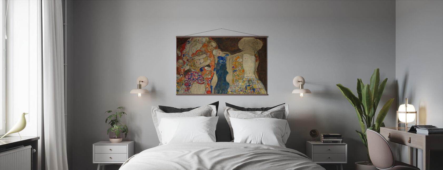 Bride - Gustav Klimt - Poster - Bedroom
