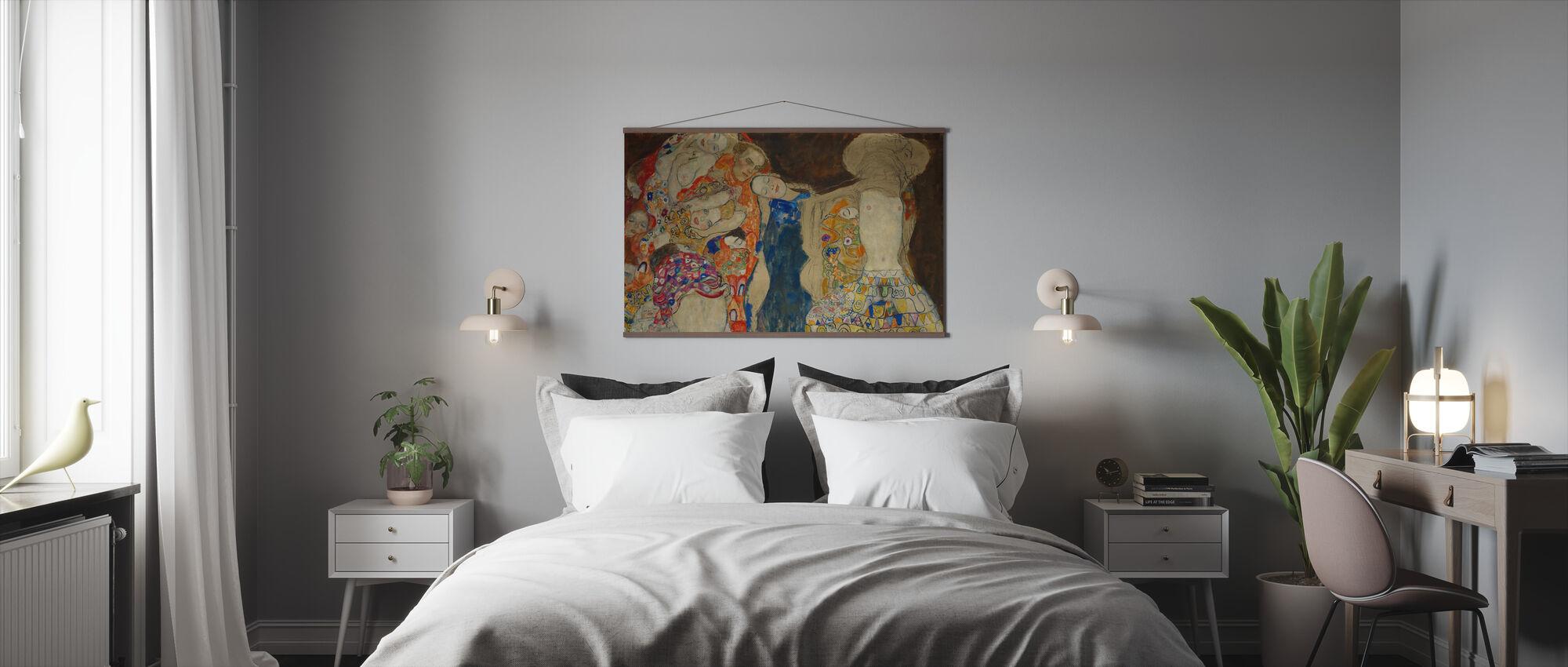 Brud - Gustav Klimt - Plakat - Soverom