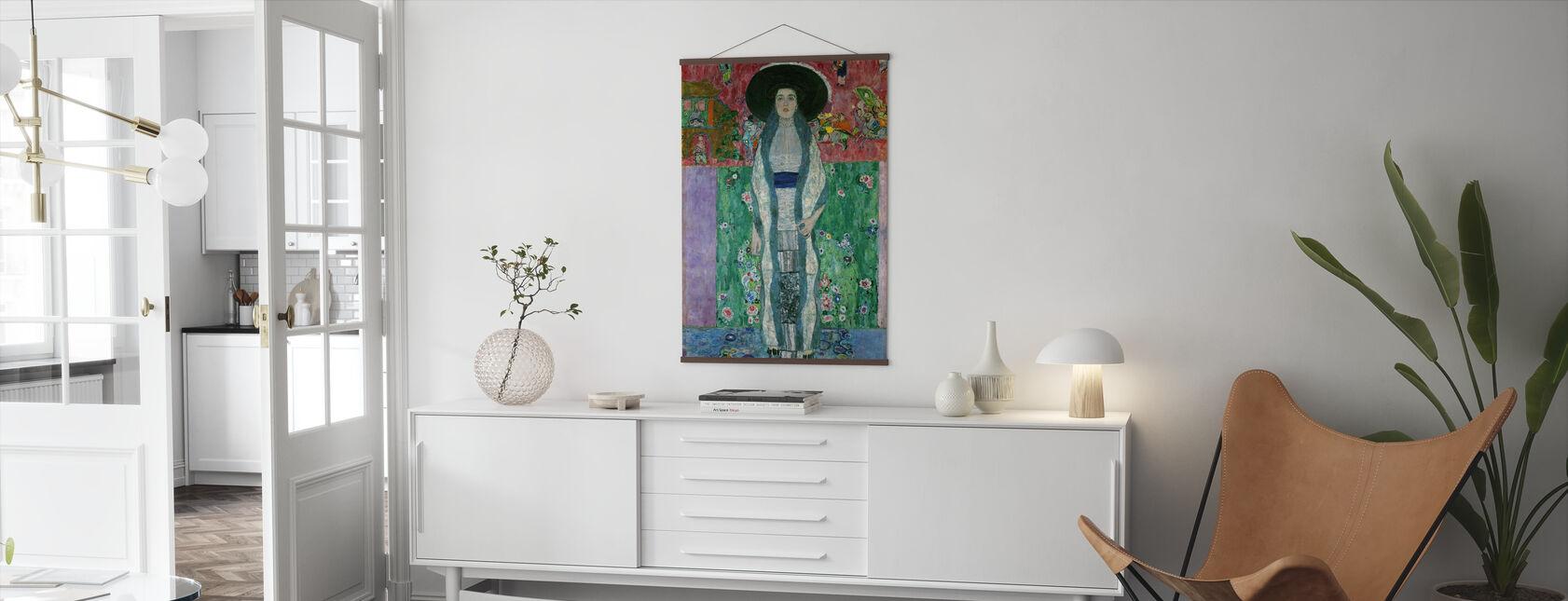 Muotokuva Adele Bloch-Bauer - Gustav Klimt - Juliste - Olohuone