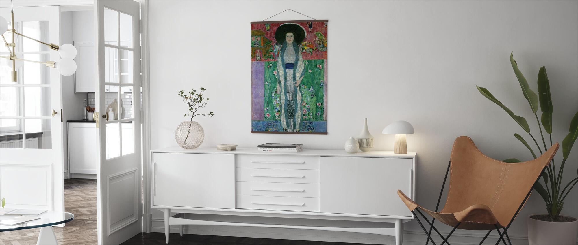 Porträtt Av Adele Bloch-Bauer - Gustav Klimt - Poster - Vardagsrum