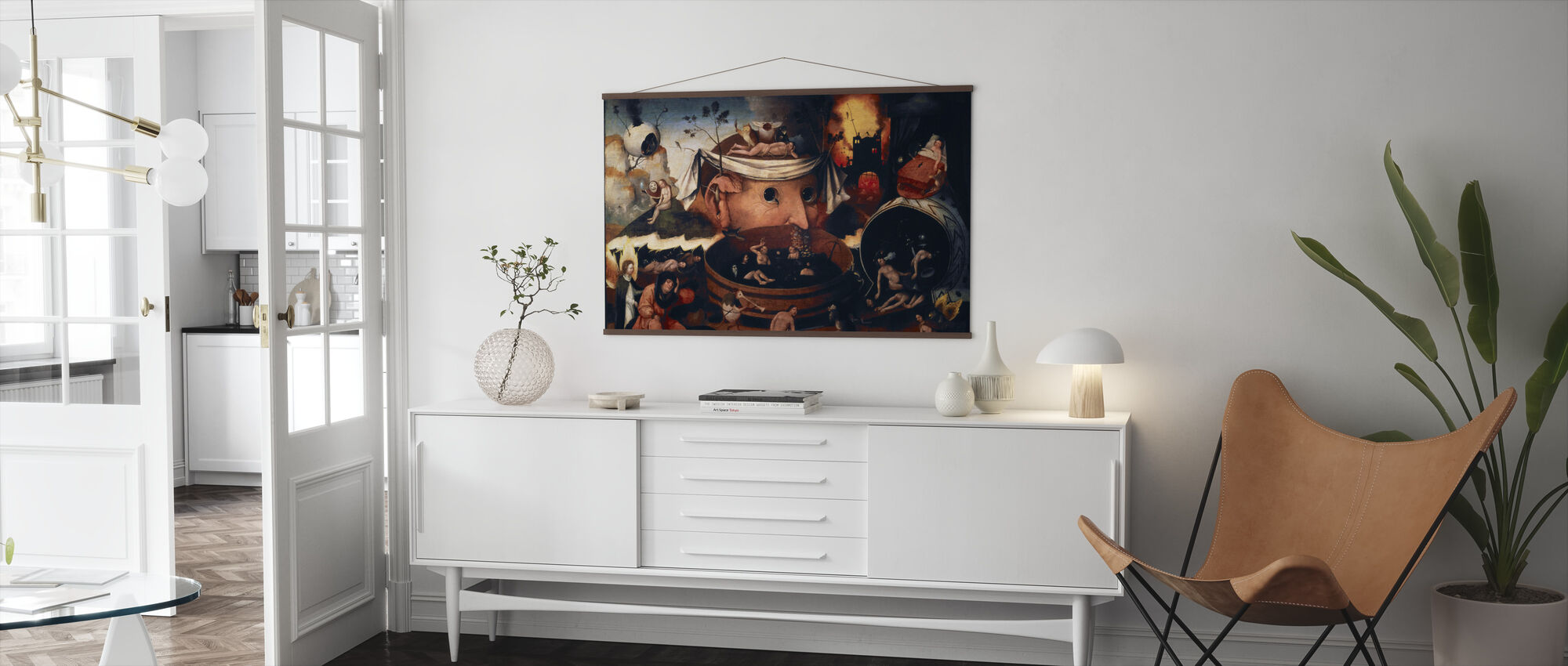 Vision of Tondal - Poster - Living Room