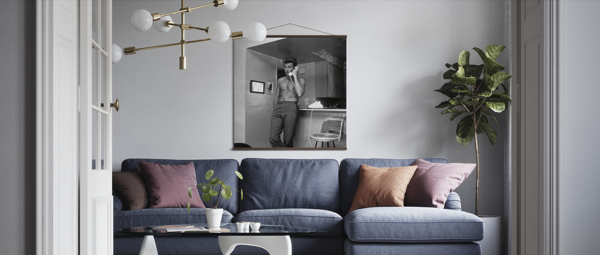 Clint Eastwood - Poster - Living Room