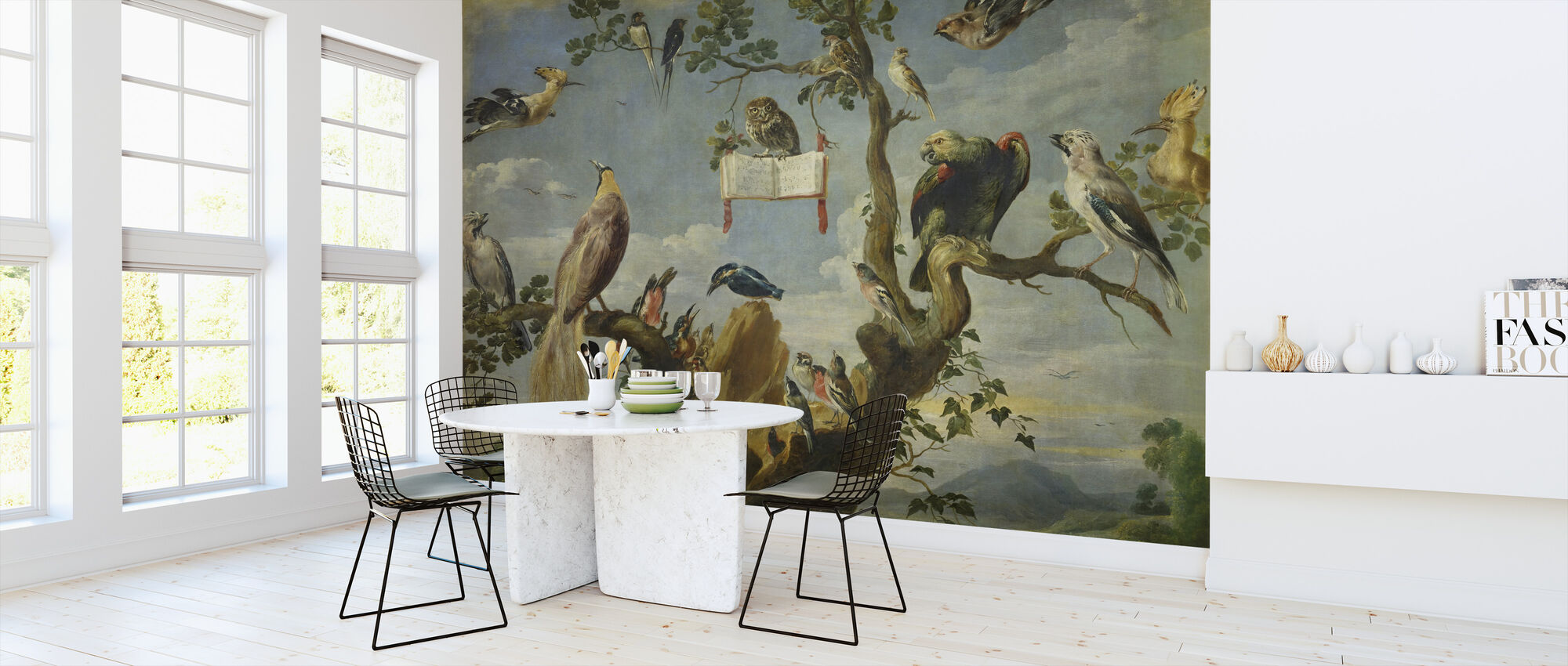 Concert of the Birds - Frans Snyders - Wallpaper - Kitchen