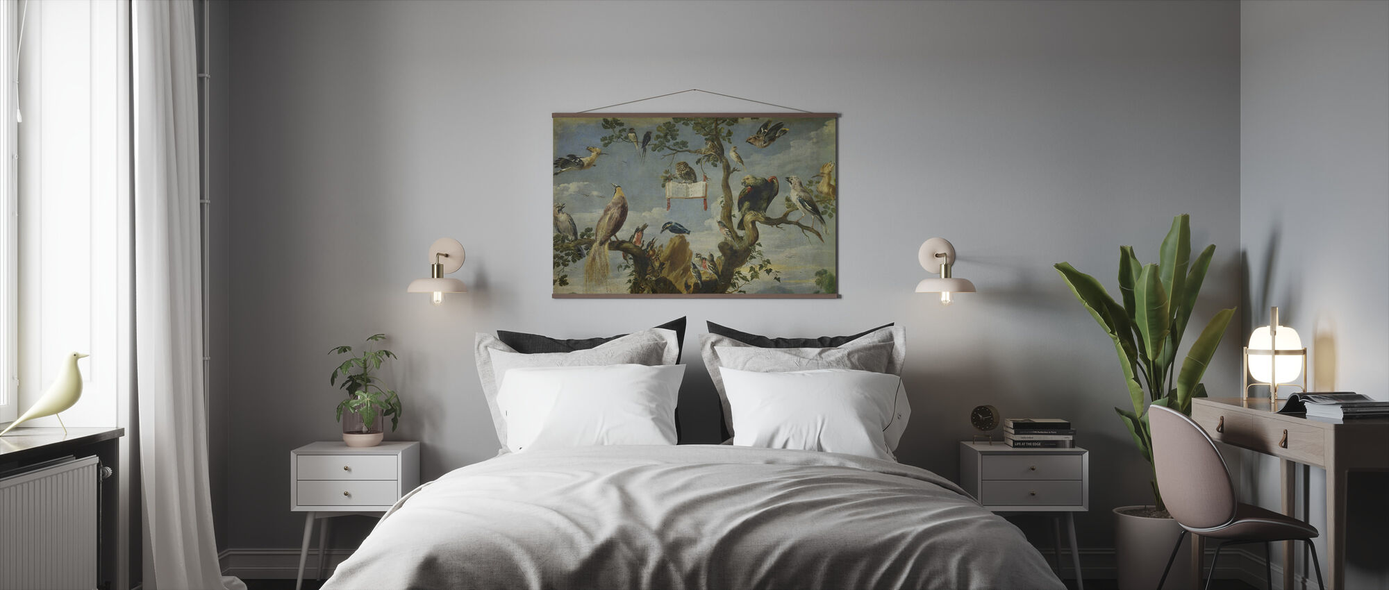 Concert of the Birds - Frans Snyders - Poster - Bedroom