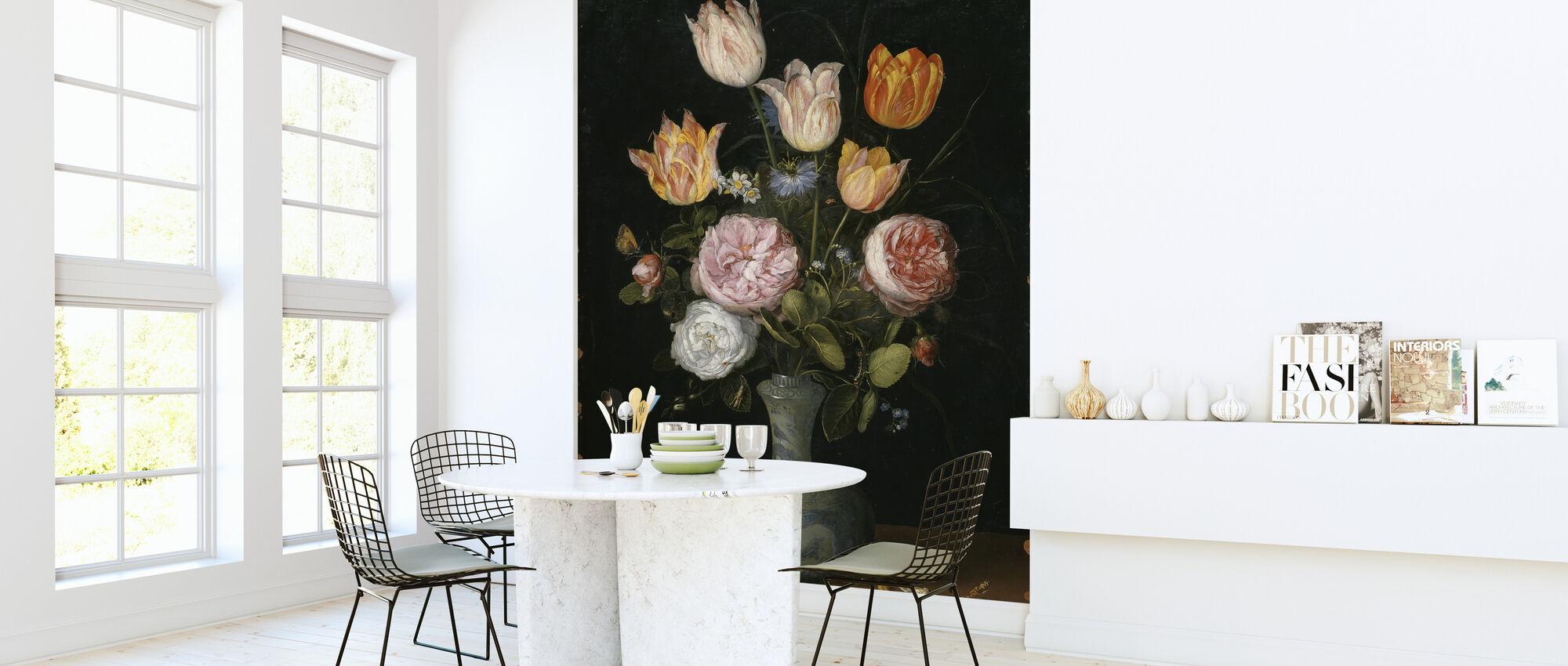 Vase of Flowers - Jan Brueghel - Wallpaper - Kitchen