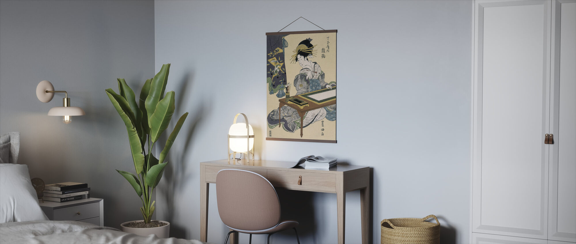 Cortesana Hinazuru - Utagawa Toyokuni - Poster - Kontor