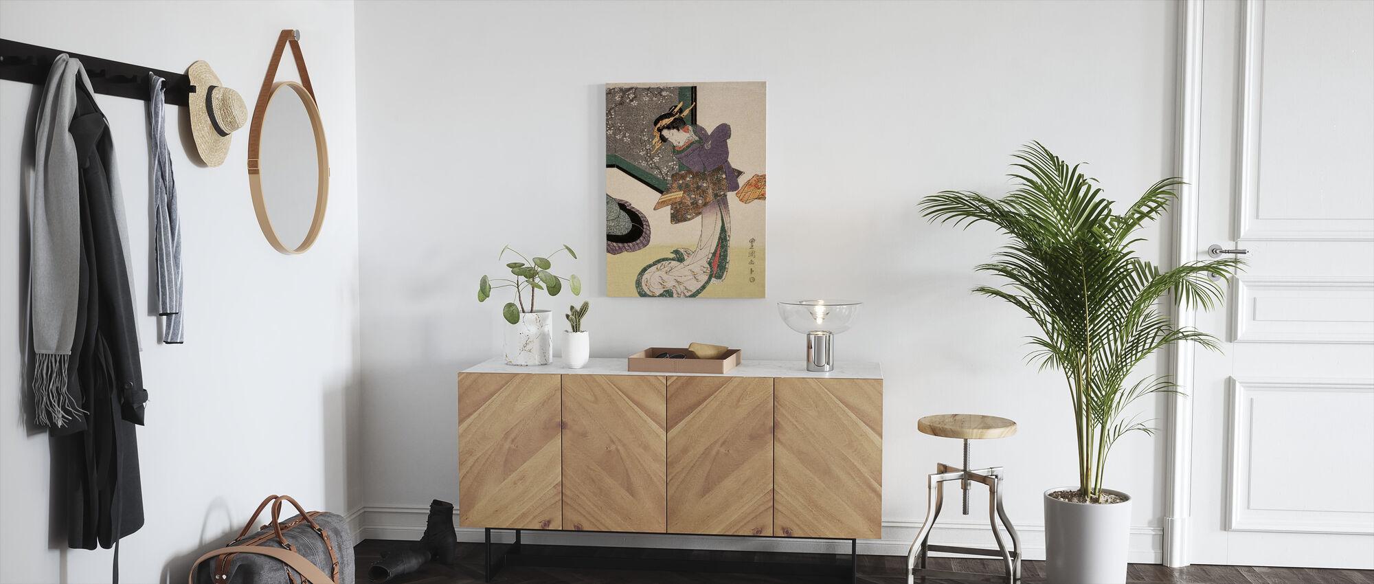 Yamaguchiya Tobei - Utagawa Toyokuni - Canvas print - Hallway